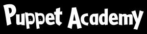 white Puppet Academy logo
