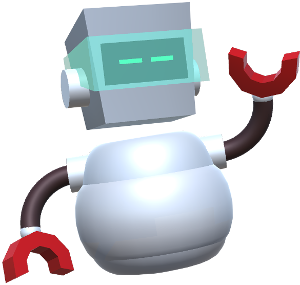 spacebot puppet character