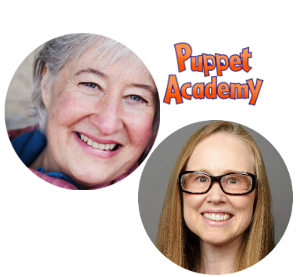 founds with puppet academy logo